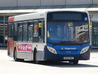 Stagecoach in Hartlepool 36081 (NK59 BMZ)