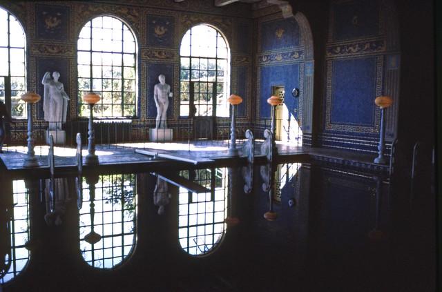 Roman pool, Hearst Castle,  California,  July 28, 1984