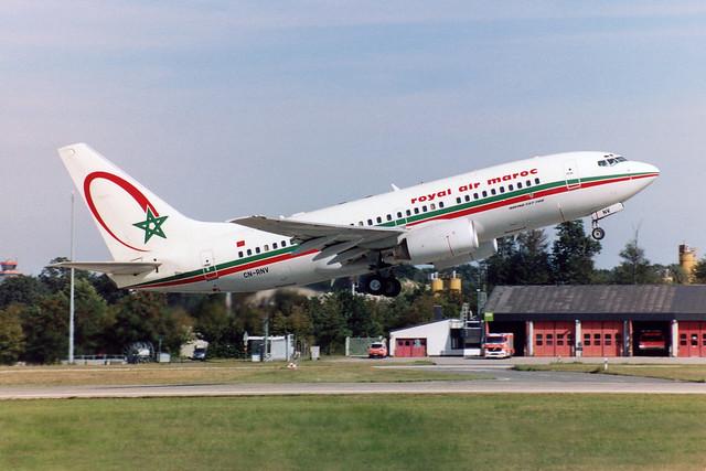 Royal Air Maroc - RAM Boeing 737-7B6  CN-RNV