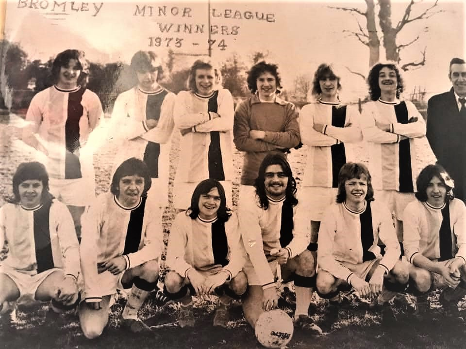 Bromley 1973 /74 Minor Tem Winners. Thanks to Alan Kinsella for the photo