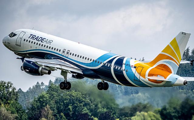 BRN/LSZB: TradeAir / Airbus A320 - MSN 795 / 9A-BTG