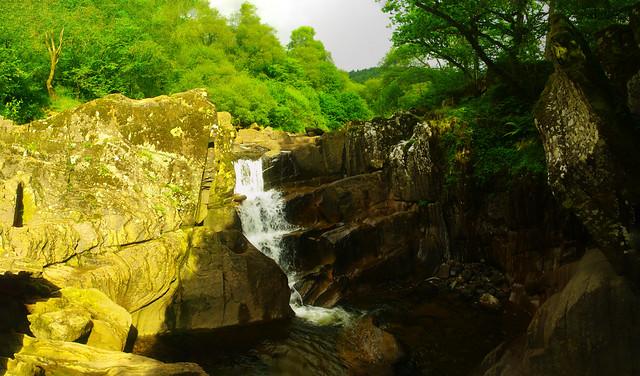 Bracklinn Falls 5 Image Stitch