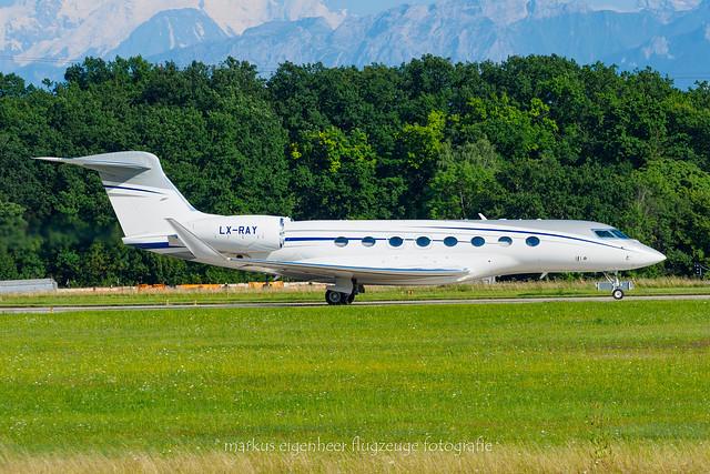 LX-RAY Gulfstream GVI (G650) GLF6 c/n 6417 > SVW