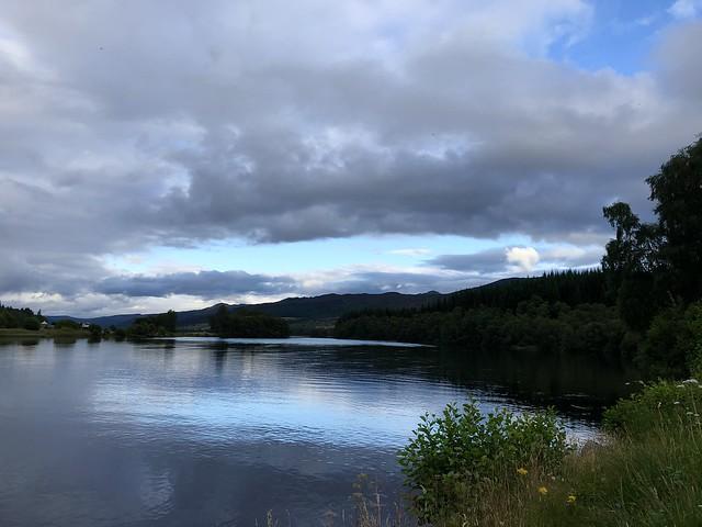 Evening on Loch Tummel