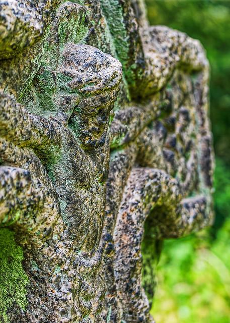 Weathered Head Stone (St Nicholas Churchyard) (Panasonic LX100-II)