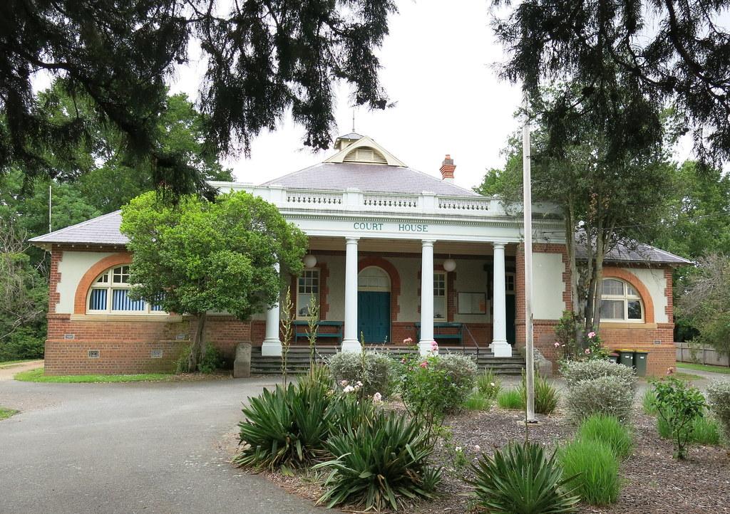 Court-house, Braidwood, NSW, 1902