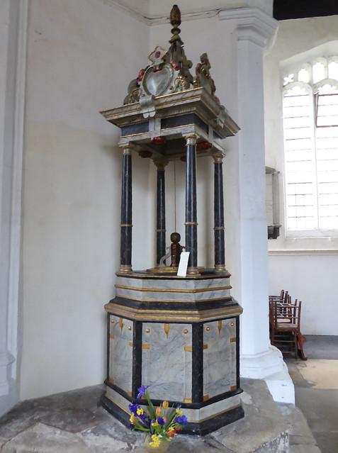 Font, St Botolph's, Cambridge