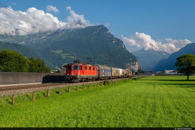 SBB Cargo Re 420 256-0 / Altdorf