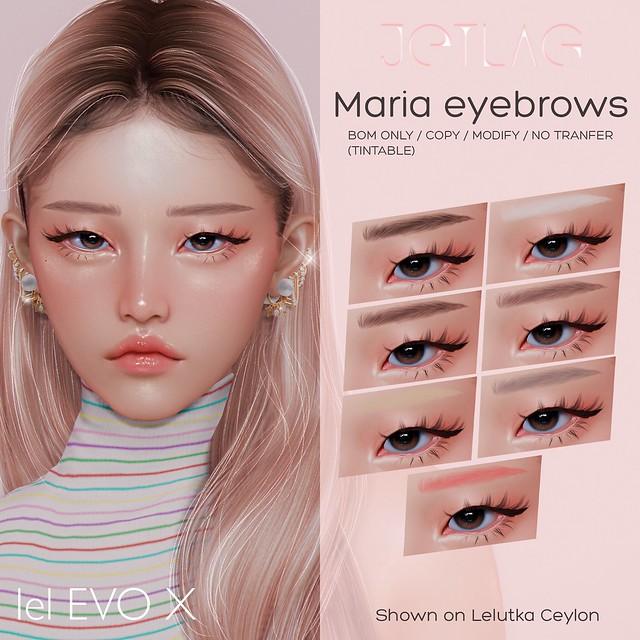 JETLAG - Maria eyebrows EVOX @MP