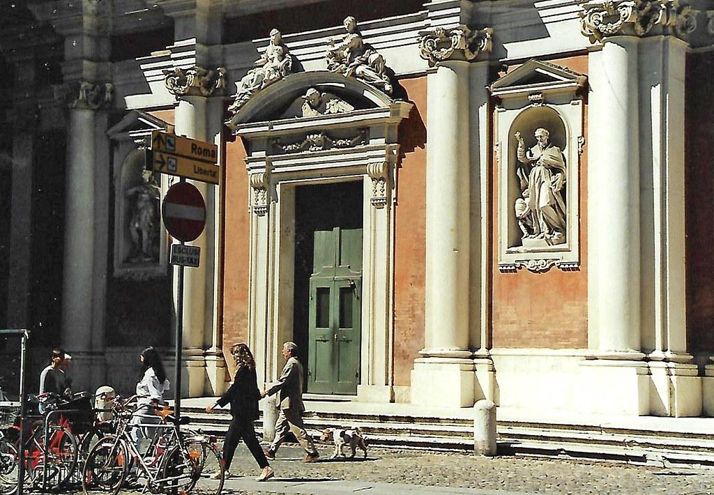 Modena, Via Luigi Carlo Farini, Chiesa di San Giorgio