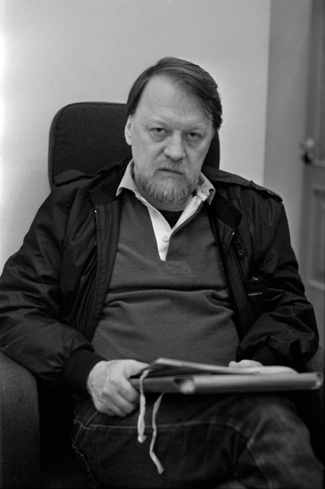 1985. Драматург Михаил Рощин. (1)