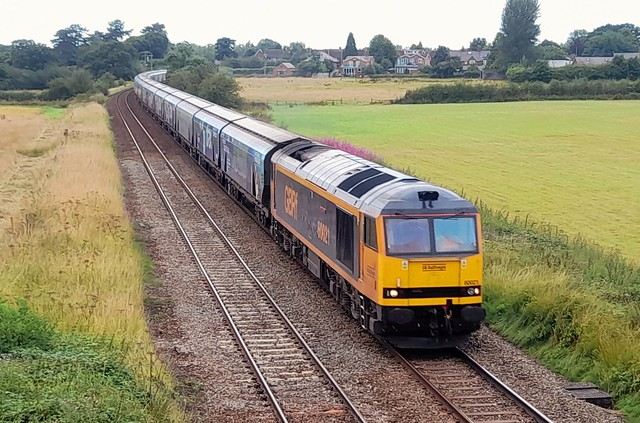 60021 On Biomass Emptys Diverts At Ashley 31/7/21