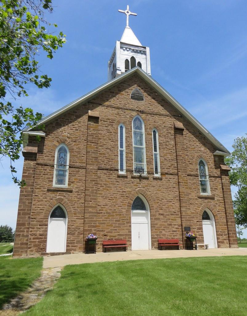 Saint Patrick's Roman Catholic Church (Georgetown, Iowa)