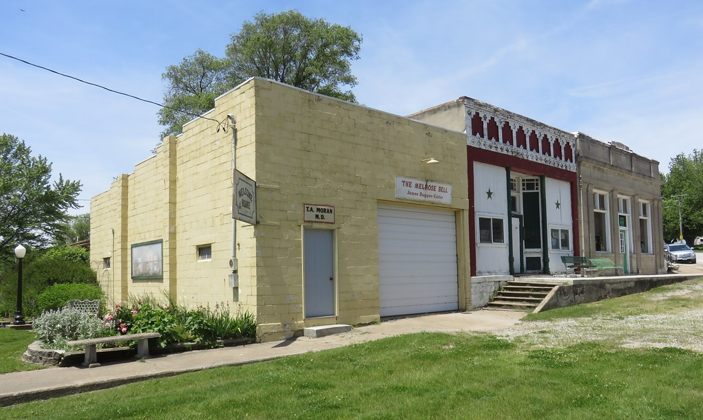 Commercial Storefront Block (Melrose, Iowa)