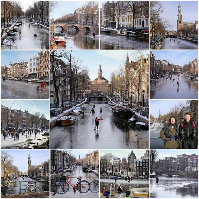 Fantastic skating days in Amsterdam in 2021
