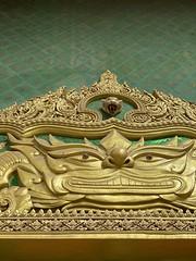 :dragon: Above the #temple door #bangkok
