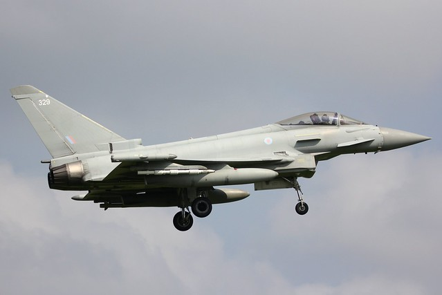 Typhoon FGR4 ZK329 RAF Coningsby 21.07.21-1