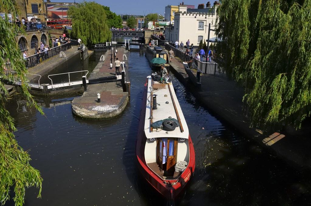 Hampstead Road Lock 1, Regent's Canal, Camden Town, London NW1