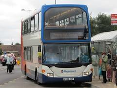 Stagecoach Midlands Scania N94UD OmniDekka/East Lancs (15401-KX04RCV) Corbyu2019s, George Street (31-07-2021)