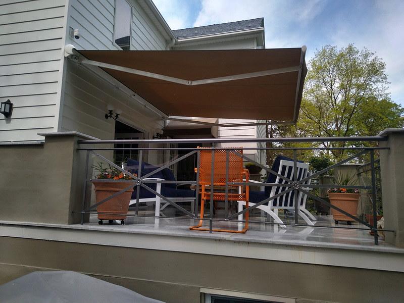 Modern Retractable Awnings Baltimore- DC- Hoffman Awning