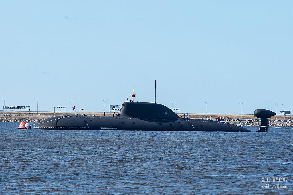 ГВМП-2021. Часть 1 - Подводные лодки в Кронштадте H18A3797