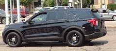 Wausau Police Ghost 2021 Ford FPIU