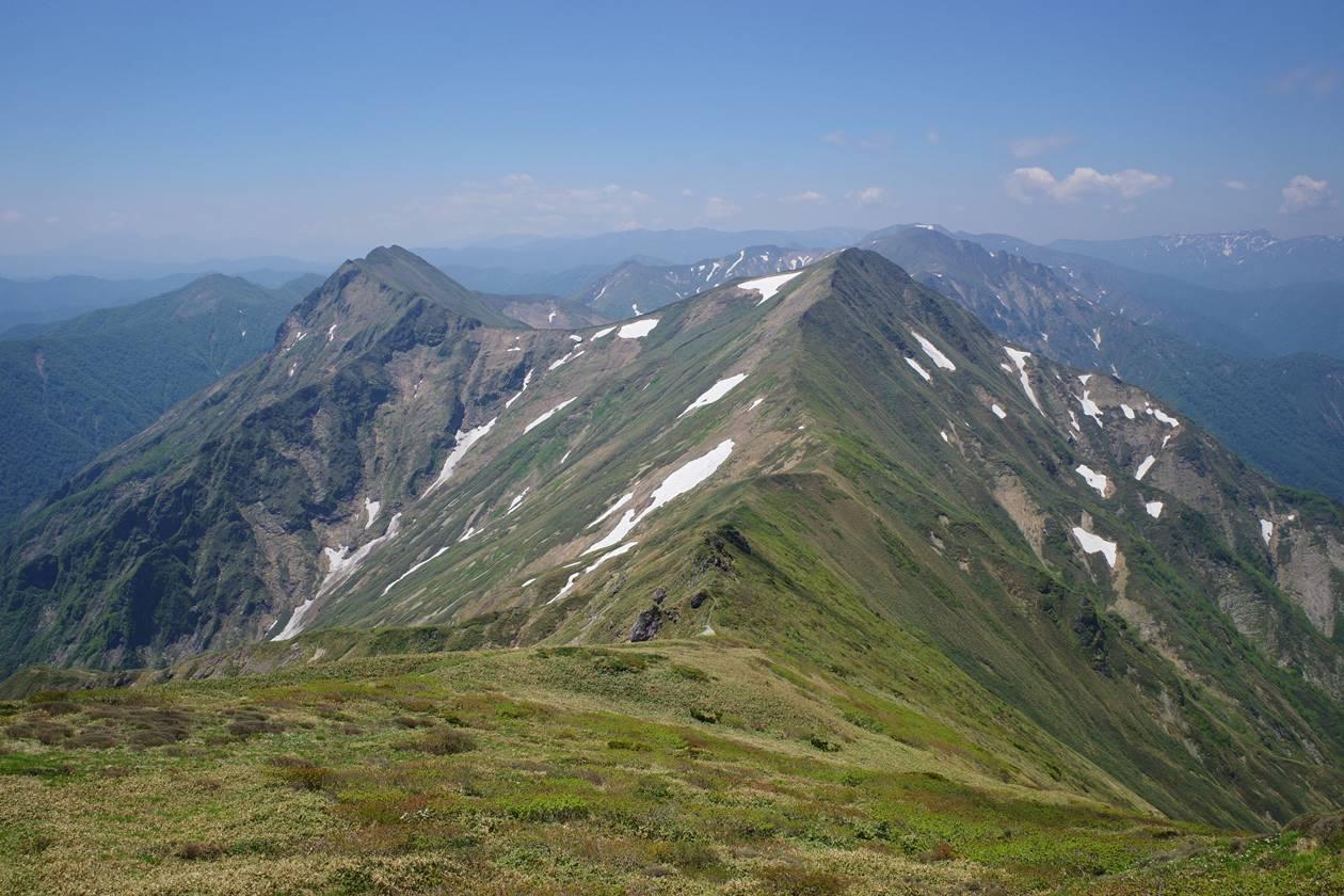 谷川岳登山 主脈稜線
