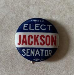 Jackson for US Senate Campaign Button