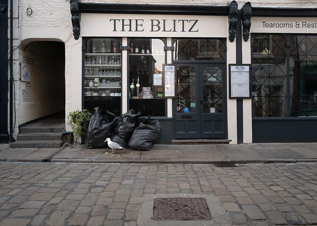 Whitby - The Blitz