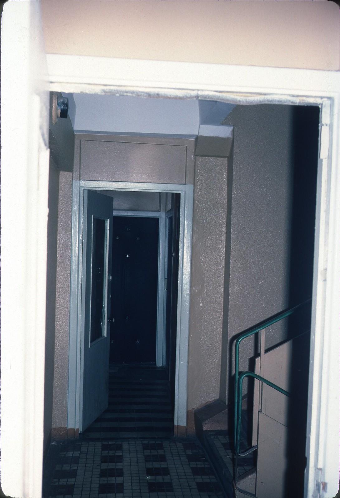 Улица Шверника, 1, поперечный коридор