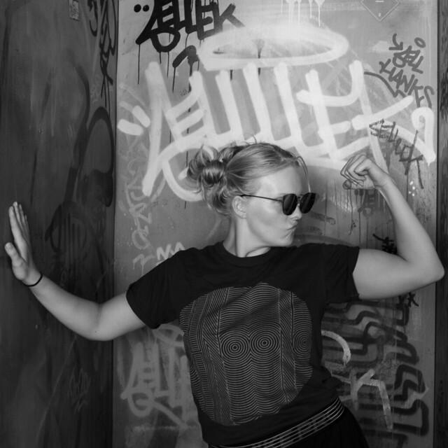 Graffiti portrait