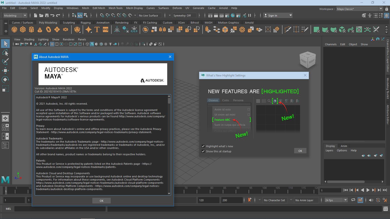 Working with Autodesk Maya 2022.1 full license
