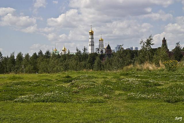 La torre de Iván el Grande, Kremlin, Moscú