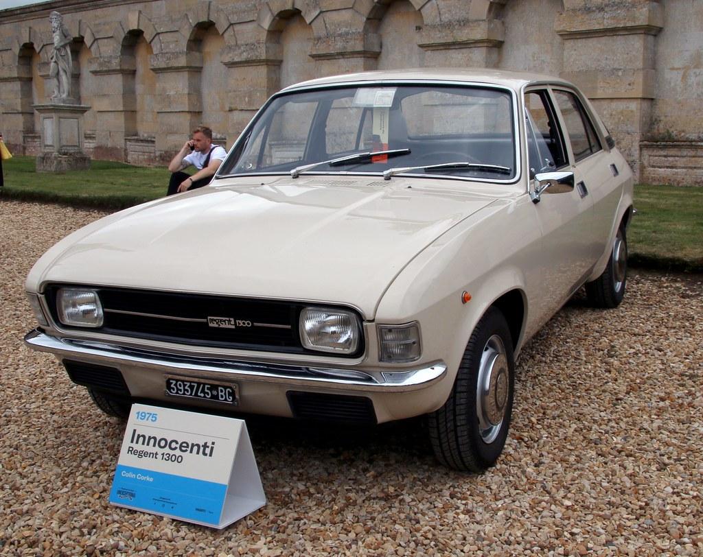 393745BG Innocenti Regent 1300 1975