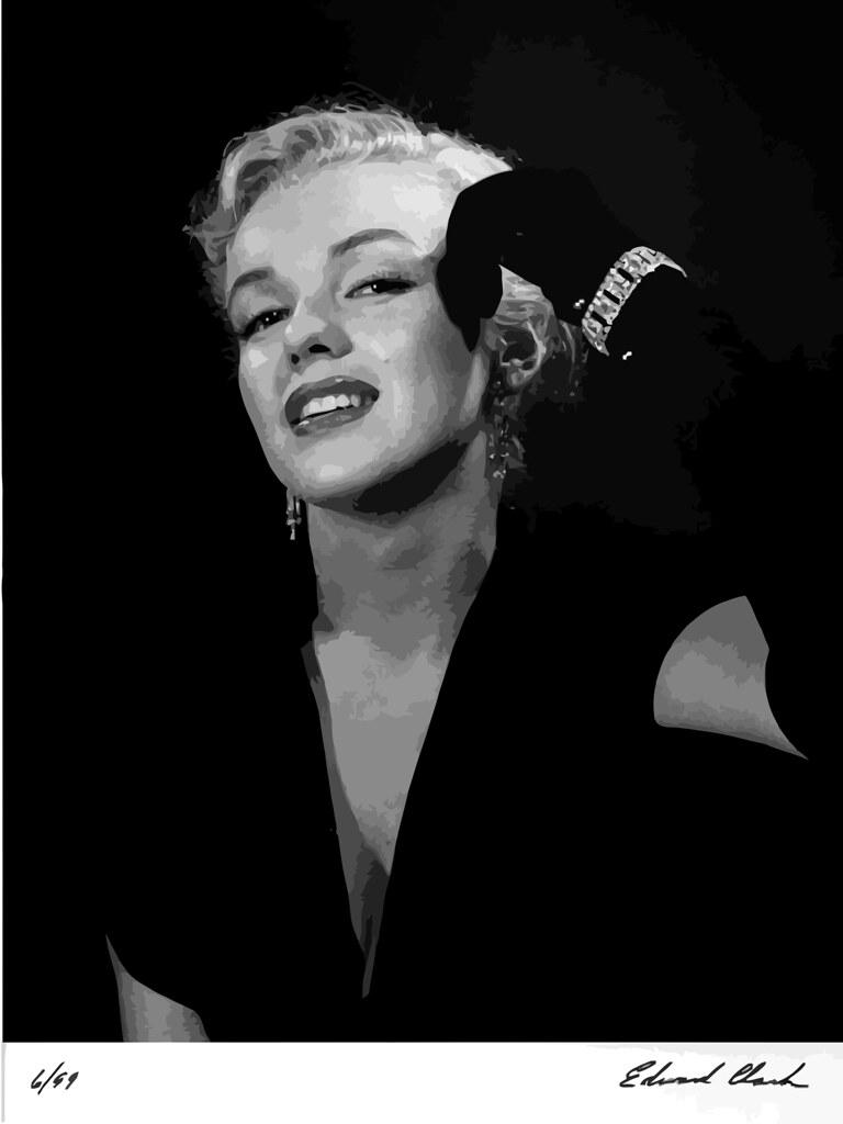 Marilyn Monroe fotografiada por Ed Clark, 1950