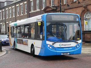 Stagecoach in Sunderland 27735 (NK11 BGF)