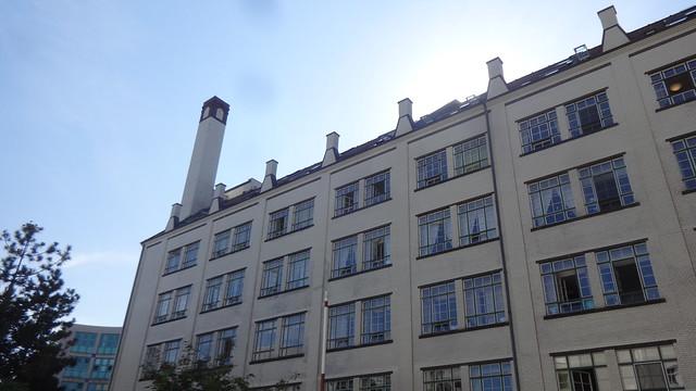 1927/28 Berlin Backhaus Wittler-Brotfabrik von Kurt Berndt Hof Maxstraße 2-4 in 13347 Wedding
