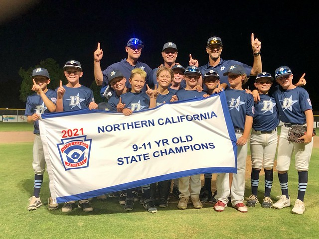 Danville 2021 NorCal 9-11 YR Old Champions