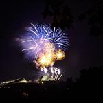 End of festivo fireworks
