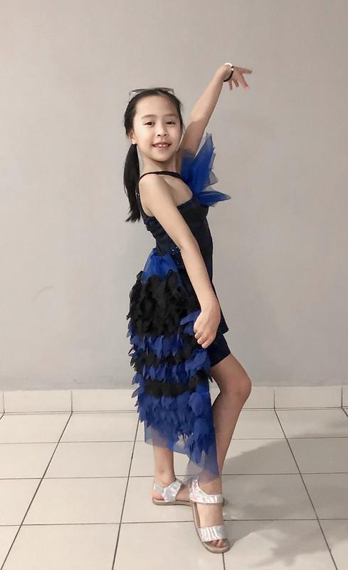 Alayna Striking Poses In Her Own Design Made By Kittieyiyi