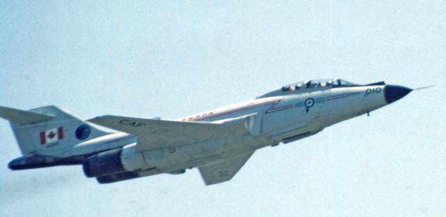 CF 101, Vodoo,  Abbotsford air show,  Aug 7, 1981