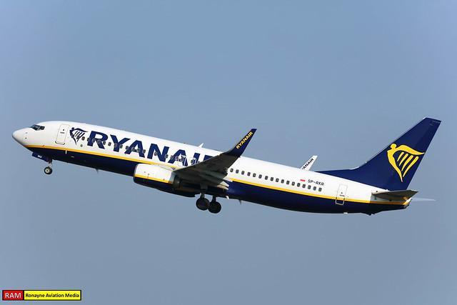 SP-RKR | Boeing 737-8AS | Ryanair Sun