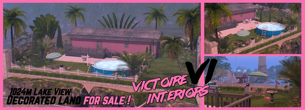 【1990's】 – Decorated lake view land FOR SALE by Victoire Interiors