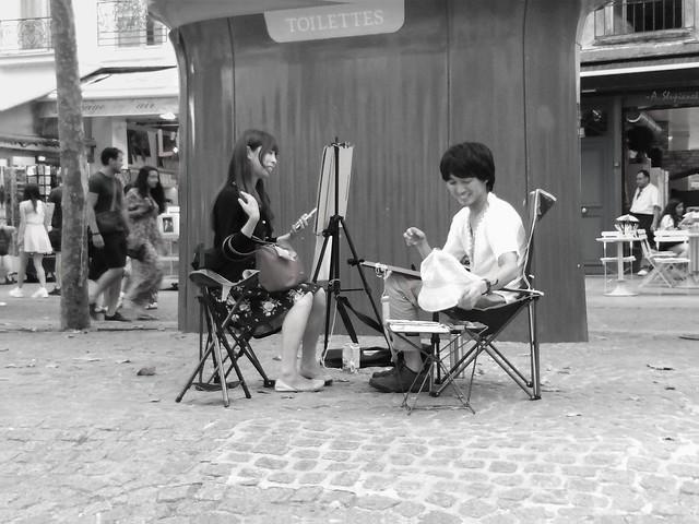 Paris before the pandemic