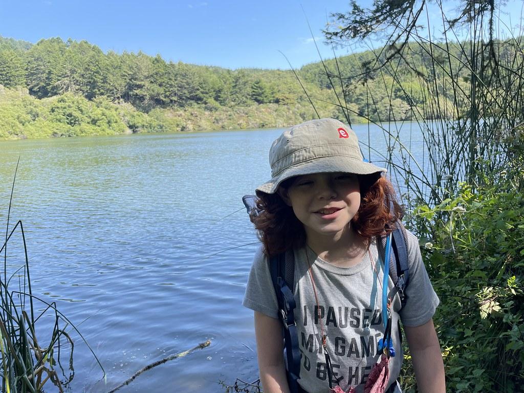 Taking a Break at Bass Lake