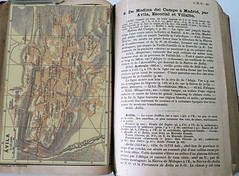 Guia Baedeker, 1897. Plano e indicaciones de Ávila, Archivo Jose Luis Pajares. CURIOSIDADES DE LA GUÍA.
