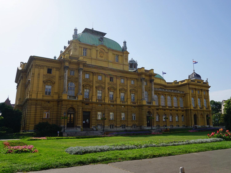 Zagreb theatre