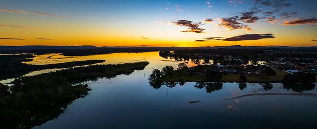 Panorama Bay Sunset