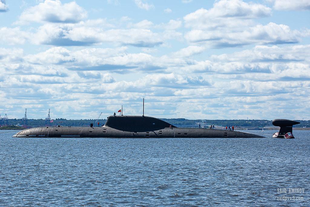 ГВМП-2021. Часть 1 - Подводные лодки в Кронштадте H18A4093