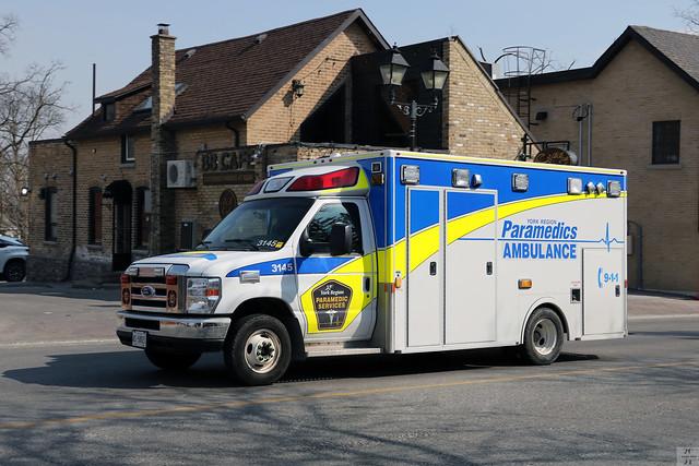 York Region ambulance